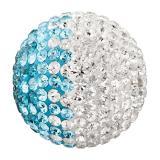 Engelsrufer  Klangkugeln Messing Crystal türkis / weiß (japanischer Ton) ERS-06-ZI-S EAN: 4260316918772