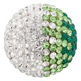 Engelsrufer  Klangkugeln Messing mit Crystal grün / weiß (japanischer Ton) ERS-04-ZI-S EAN: 4260316918758