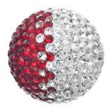 Engelsrufer  Klangkugeln Messing mit Crystal rot / weiß (japanischer Ton) ERS-05-ZI-S EAN: 4260316918765